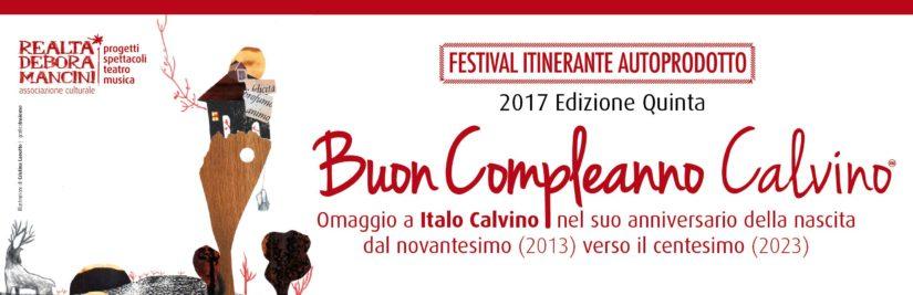 BUON COMPLEANNO CALVINO – Edizione 2017
