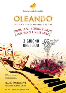 OLEANDO 2018 @ Teatro San Giuseppe