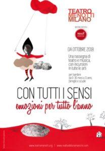 CON TUTTI I SENSI - Anticipazioni stagione Teatro Menotti 2018/2019 @ Teatro Menotti