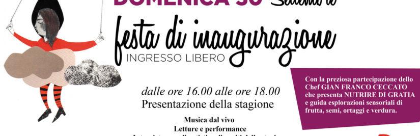 Festeggiamo la stagione CON TUTTI I SENSI @Teatro Menotti