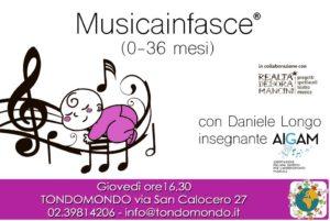 MUSICAINFASCE® con DANIELE LONGO a TONDOMONDO @ Tondomondo