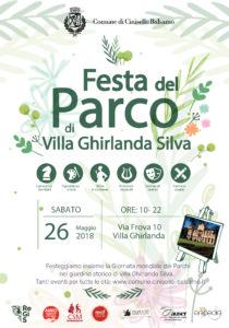 FORESTA DI PAROLE per FESTA DEL PARCO @ Villa Ghirlanda Silva