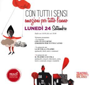 INCONTRO DOCENTI @TEATRO MENOTTI - Con tutti i sensi @ Teatro Menotti