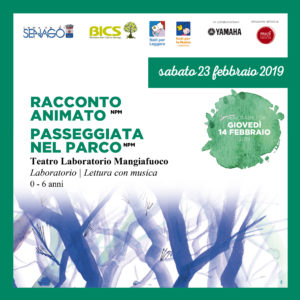 Racconto animato & Passeggiata nel parco @Girotondo di storie @ Biblioteca Italo Calvino