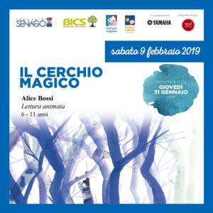 IL CERCHIO MAGICO @Girotondo di storie @ Bibioteca Italo Calvino
