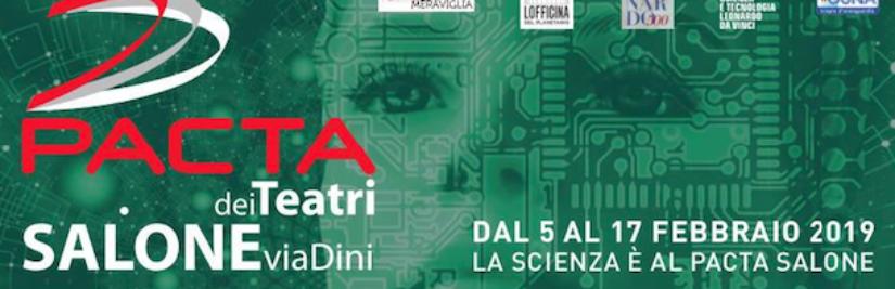 Partecipiamo con MARTINA TREMENDA a ScienzaInScena Atto √2 – Festival di Teatro e Scienza – Teatro PACTA Milano