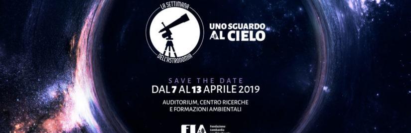 Partecipiamo alla SETTIMANA dell'ASTRONOMIA 2019 per Fondazione Ambiente Lombardia – Seveso