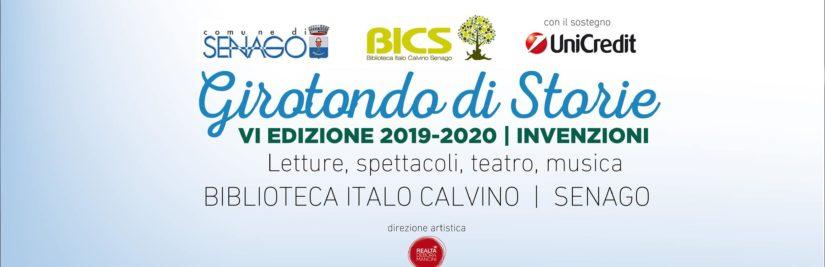 Curiamo la Rassegna GIROTONDO DI STORIE 2019-2020 a Senago