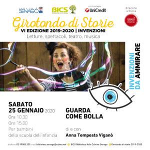GUARDA COME BOLLA @Girotondo di storie 2019.2020 @ Biblioteca Italo Calvino