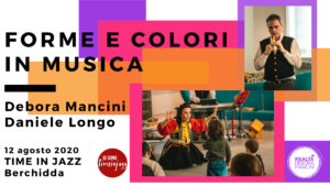 Forme e colori in musica @Time in Jazz 2020 @ Giardino Asilo