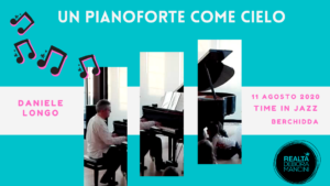 UN PIANOFORTE COME CIELO @TimeInJazz 2020 @ Cinema Teatro