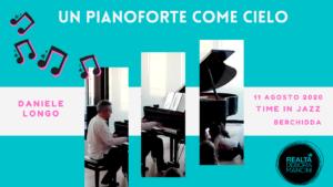 UN PIANOFORTE COME CIELO @TimeInJazz 2020 @ Cinema Teatro