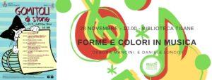 FORME E COLORI IN MUSICA @Tilane @ Biblioteca Tilane